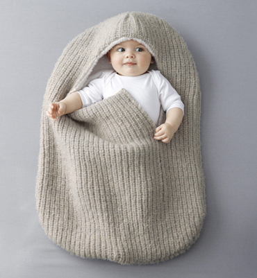 tricoter nid d'ange modele